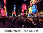 new york city  usa   nov 16 ... | Shutterstock . vector #785133445