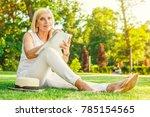 full length shot of a mature... | Shutterstock . vector #785154565
