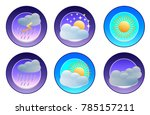 illustration of flat color... | Shutterstock . vector #785157211