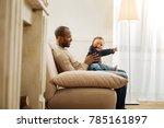 little son. handsome exuberant...   Shutterstock . vector #785161897