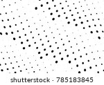 abstract halftone wave dotted... | Shutterstock .eps vector #785183845