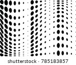 abstract halftone wave dotted...   Shutterstock .eps vector #785183857