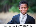 portrait of a handsome young... | Shutterstock . vector #785185114