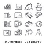 engineering and manufacturing ... | Shutterstock . vector #785186959