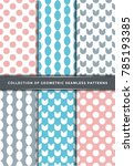 colorful seamless pattern...   Shutterstock .eps vector #785193385