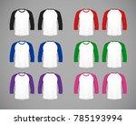 men's slim fitting long sleeve...   Shutterstock .eps vector #785193994