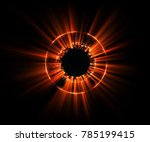 abstract background. luminous... | Shutterstock . vector #785199415