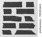 insulating adhesive tape  duct...   Shutterstock . vector #785201641