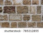 wall in jaffa | Shutterstock . vector #785212855