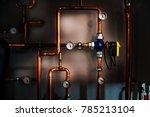 Valve Actuator In A Boiler Room ...