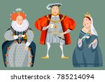 history of england. british... | Shutterstock .eps vector #785214094