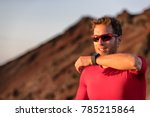 technology for sport and active ... | Shutterstock . vector #785215864