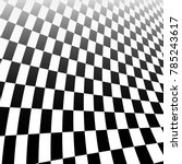 abstract checker background... | Shutterstock .eps vector #785243617