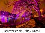 big beautiful trees in the... | Shutterstock . vector #785248261