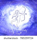 astrology sign sagittarius | Shutterstock .eps vector #785259724