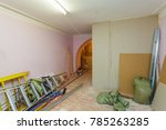 interior of upgrade room with... | Shutterstock . vector #785263285
