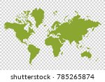 political paper map of the... | Shutterstock .eps vector #785265874