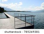 bourget lake lanscape  aix les... | Shutterstock . vector #785269381
