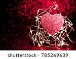 Valentines Day Dark Red Red...