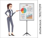 business woman. young women in...   Shutterstock .eps vector #785279299
