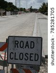 Small photo of road closed sign