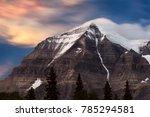 View Of Mount Robson In...