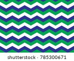green and blue chevrons | Shutterstock .eps vector #785300671