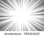 background of radial lines for... | Shutterstock .eps vector #785301025