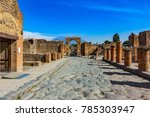 Italy. Ancient Pompeii  Unesco...