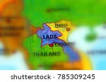 laos  officially the lao people'... | Shutterstock . vector #785309245