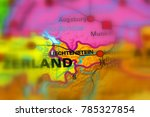 liechtenstein officially the... | Shutterstock . vector #785327854