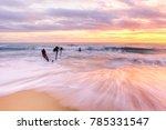 sunrise at the dick beach... | Shutterstock . vector #785331547