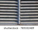 blue or gray exterior window...   Shutterstock . vector #785332489
