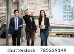 business people team discussing ... | Shutterstock . vector #785339149