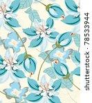 beautiful pattern floral   Shutterstock . vector #78533944