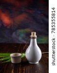 chinese white whisky in ceramic ...   Shutterstock . vector #785355814