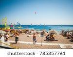 rhodes  greece   august 26 ... | Shutterstock . vector #785357761