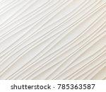 white seamless texture. wavy... | Shutterstock . vector #785363587