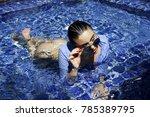 fashion girl beautiful woman in ...   Shutterstock . vector #785389795