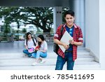 portrait of young asian boy...   Shutterstock . vector #785411695