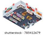 a vector illustration of... | Shutterstock .eps vector #785412679