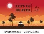 let's go travel background