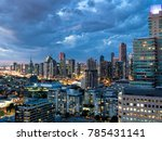 a long exposure of the... | Shutterstock . vector #785431141