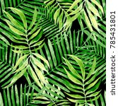 watercolor seamless pattern... | Shutterstock . vector #785431801