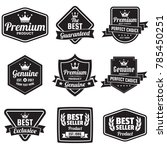 vintage retro vector logo for... | Shutterstock .eps vector #785450251