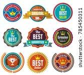 vintage retro vector logo for... | Shutterstock .eps vector #785450311
