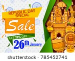 sale promotion advertisement... | Shutterstock .eps vector #785452741