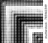 abstract grunge grid polka dot... | Shutterstock .eps vector #785461549