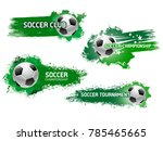Soccer Ball Grunge Icon For...