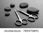 professional manicure tools on...   Shutterstock . vector #785470891